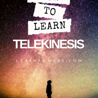 How to learn telekinesis ebook