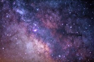 Beatiful Stars In The Sky At Night