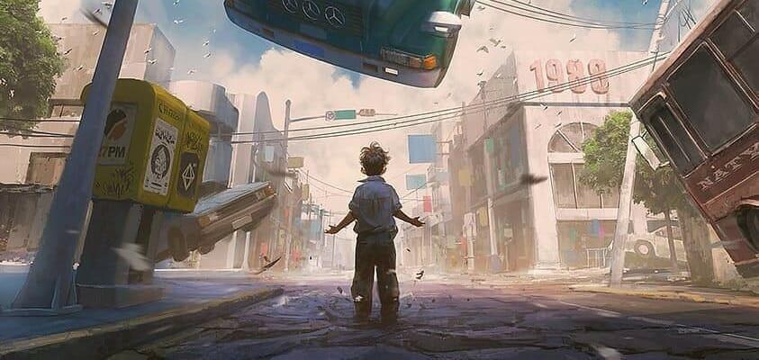 Telekinesis Kid Levitates Bus
