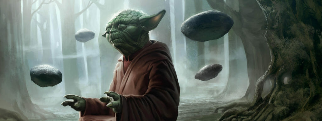 Telekinesis Meditation Training Yoda